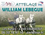 ATTELAGE WILLIAM LEBEGUE Courgeoût